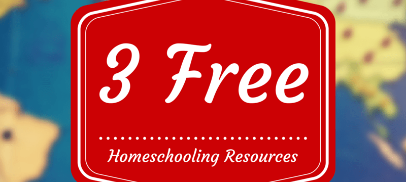 Three Free Homeschooling Resources