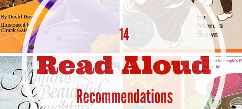 Read Alouds Recommendations