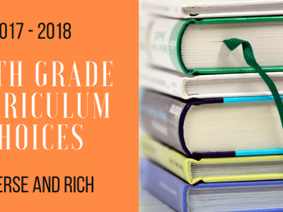 6th Grade Curriculum 2017 - 2018