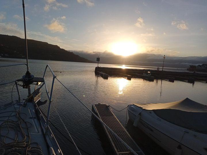 Om de tek turen til Øystese Båtlag, bubilcamp/gjestehavn, er de hjertelig velkomne.