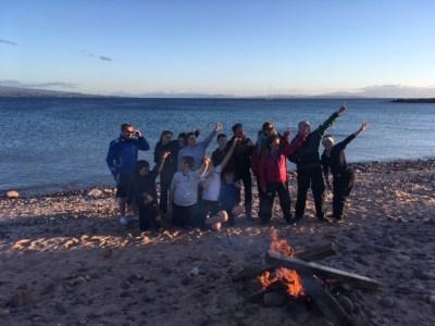 Bonfire on the beach (3)