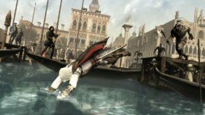 İlk oyundan bu yana serinin oyunlarında artık yüzebiliyor karakterimiz.
