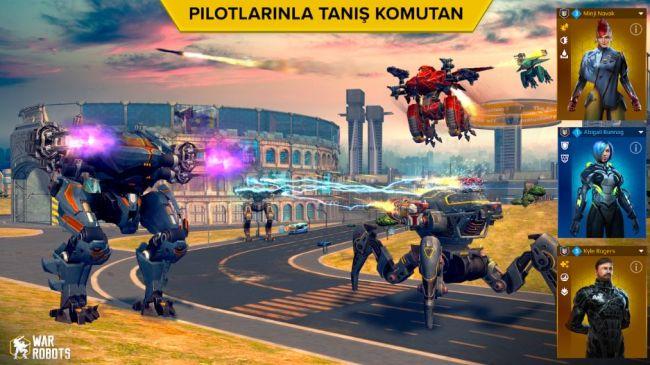 War Robots Mobil Savaş Oyunu