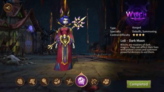 Era of Legends warlock