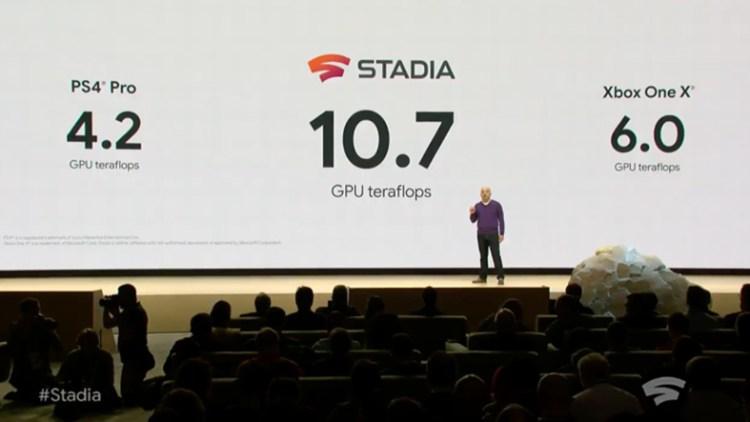 google stedia bulut oyun platformu