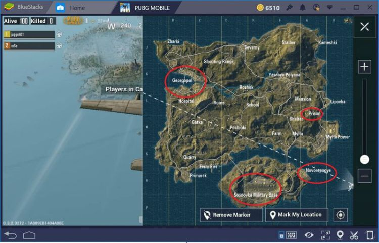 pubg mobile sniper nerede bulunur?