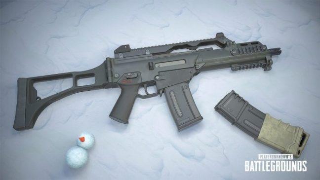 pubg mobile yeni silah eklendi