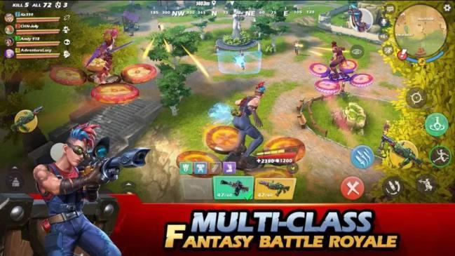 Fantastik Battle Royale Ride Out Heroes Şimdi Ön Kayıtta