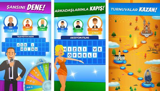 şans çarkı mobil bilgi oyunu