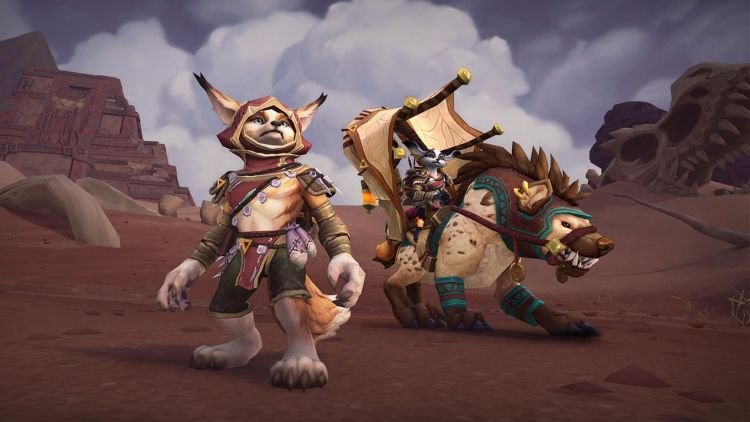 Vulpera ve Bineği - World of Warcraft