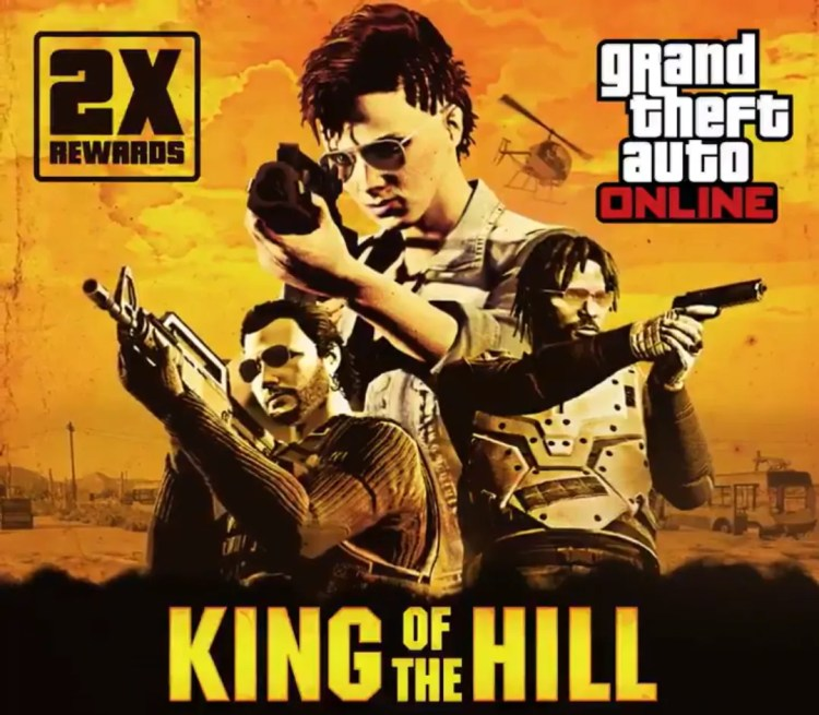 gta 5 online king of the hill