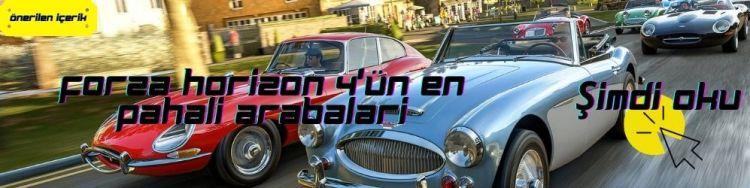 forza forizon 4 en pahalı arabalar