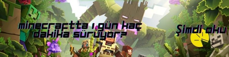 minecraftta 1 gün kaç dikaka sürüyor?