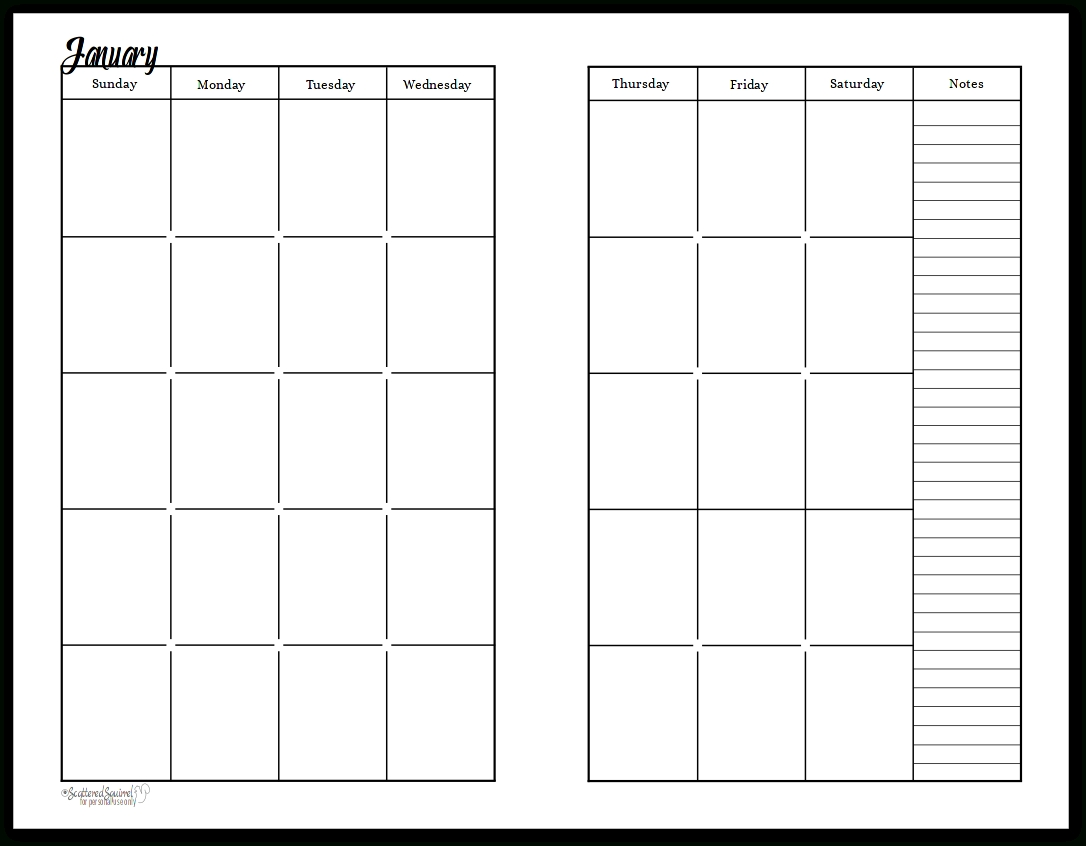 The monthly blank templates with no dates are the well formatted pages available in microsoft word format. Printable Blank Monthly Calendar 2 Pages   Calendar ...