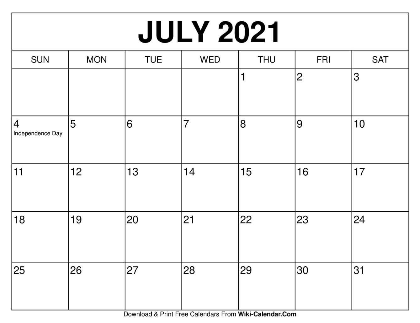 Download monthly & weekly printable calendars for 2021 — ready to download Free Fillable Calendars 2021   Calendar Template Printable