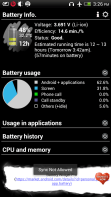 Android OS consuming the most power