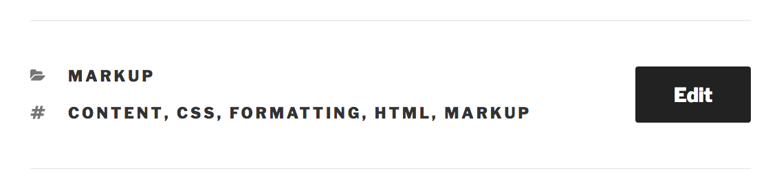WordPress'te Bir Gönderiye Etiket Ekleme