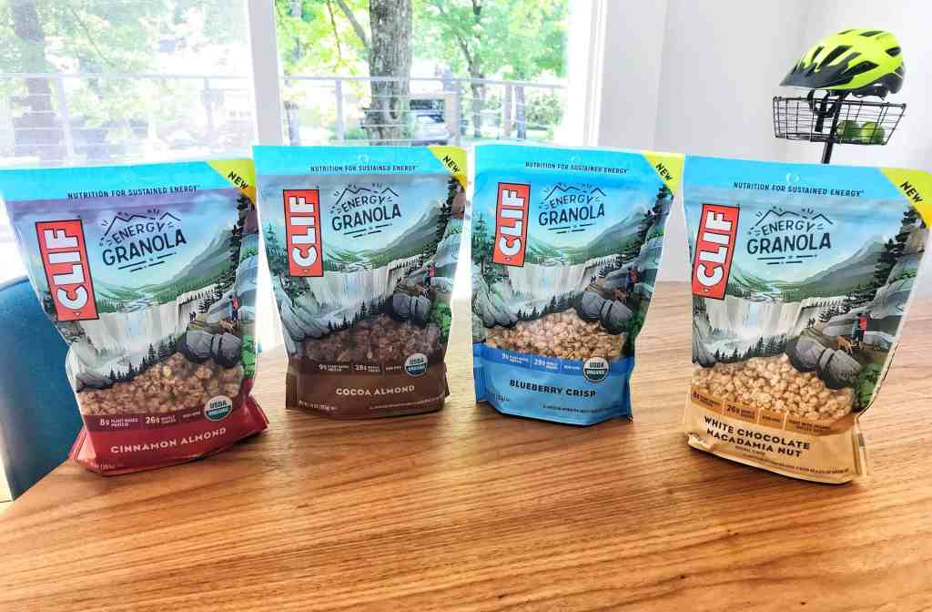 CLIF BAR ENERGY GRANOLA | Product Review & Giveaway | ENDED - Ozark Cycling Adventures, Cycling news and Routes in Northwest Arkansas NWA