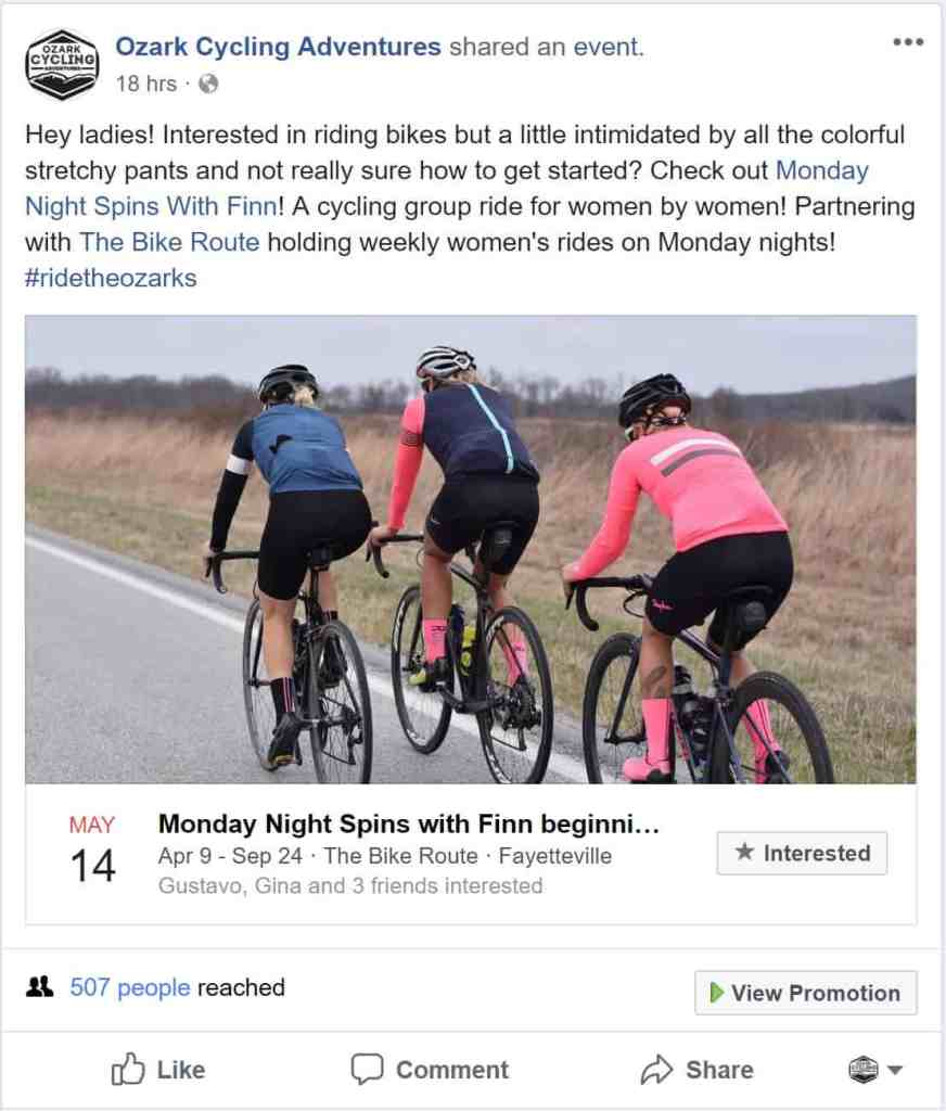 Weekend Ride Notification 5/11 - Ozark Cycling Adventures, Cycling news and Routes in Northwest Arkansas NWA