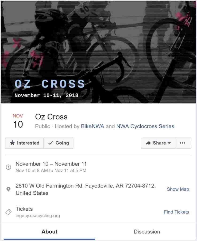Weekend Ride Notification 8/3 | NWA Cycling News - Ozark Cycling Adventures, Cycling news and Routes in Northwest Arkansas NWA