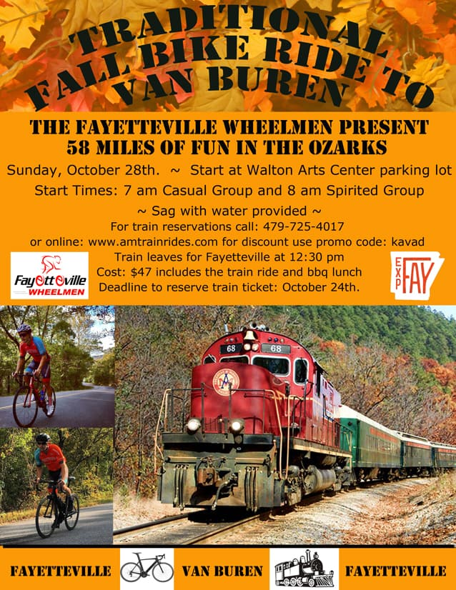 Tuesday Shorts 10/23 | NWA Cycling News - Ozark Cycling Adventures, Cycling news and Routes in Northwest Arkansas NWA