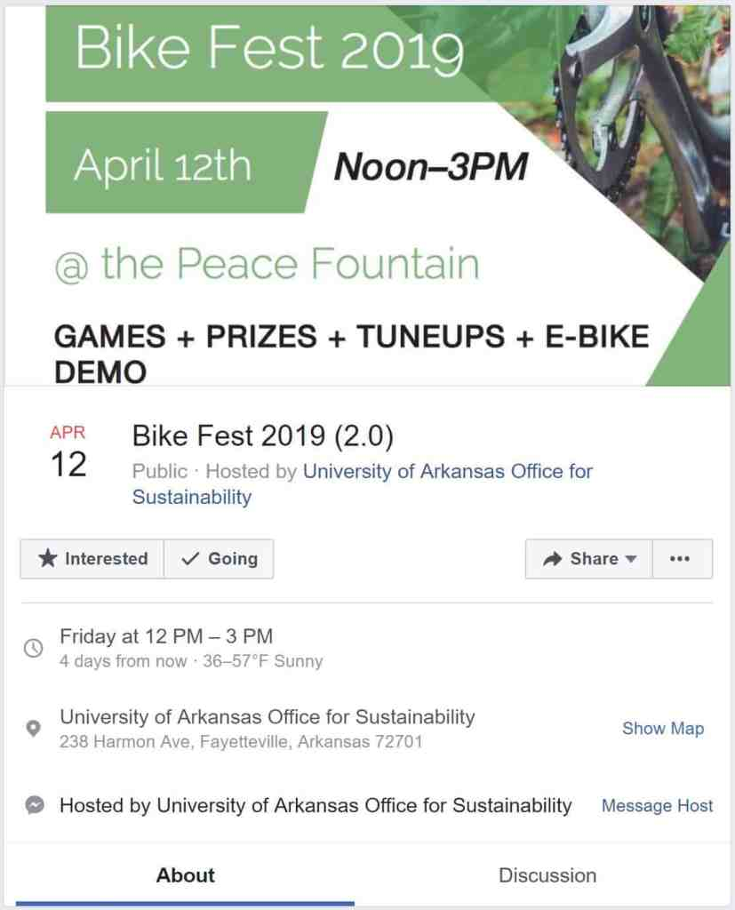 Weekend Ride Notification 4/12 | NWA Cycling News - Ozark Cycling Adventures, Cycling news and Routes in Northwest Arkansas NWA
