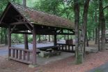 Picnic area at Iron Spring