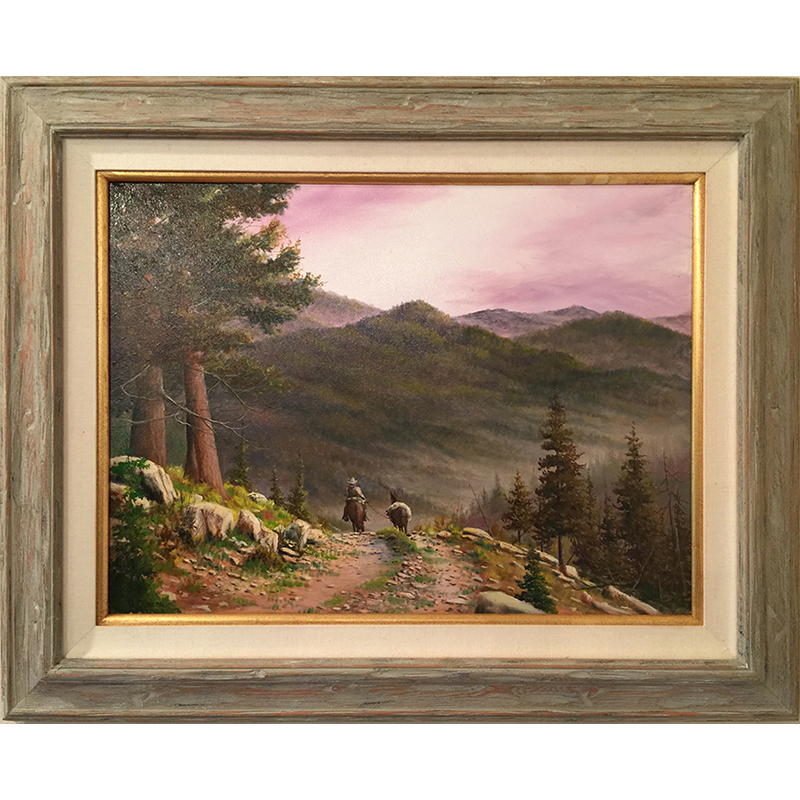 Ozarks Art Gallery | Gary Duncan - High Country Trails