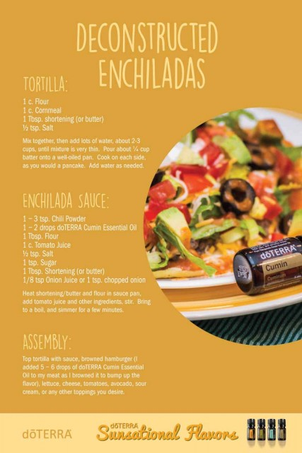 Deconstructed-Enchiladas