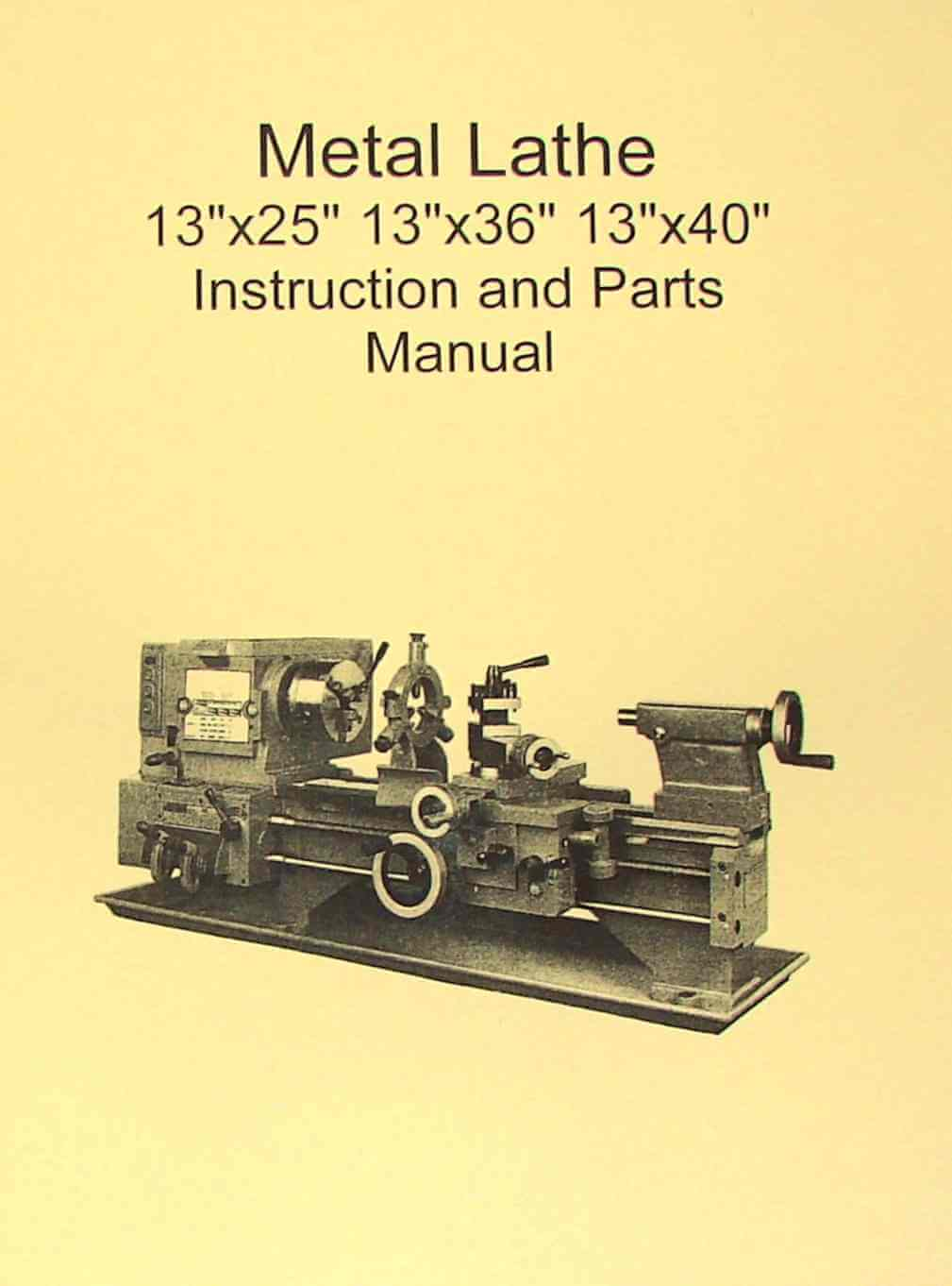 Parts Of A Leblond Lathe Manual Wiring Schematic