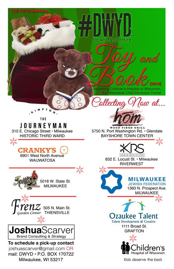 Ozaukee Talent Toy Drop Off Location