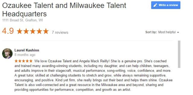 ozaukee-talent-review-laurel-elizabeth-kashinn