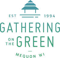 gathering on the green logo