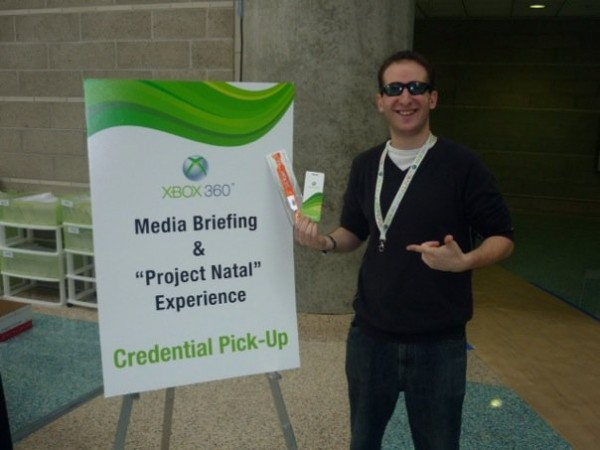 Mark Libman at E3 2010!