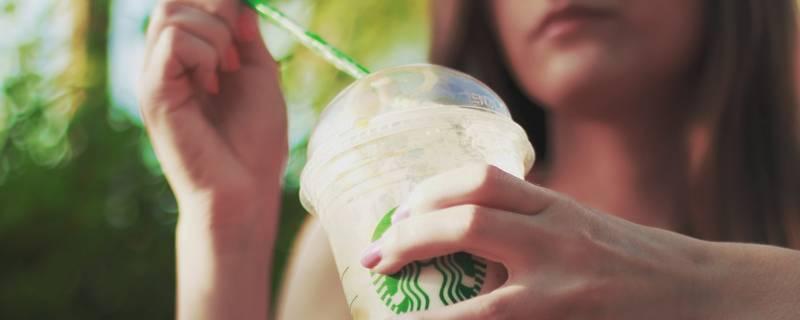 Coffee-to-go straw