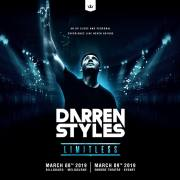 Darren Styles Announces Limitless Australian Shows