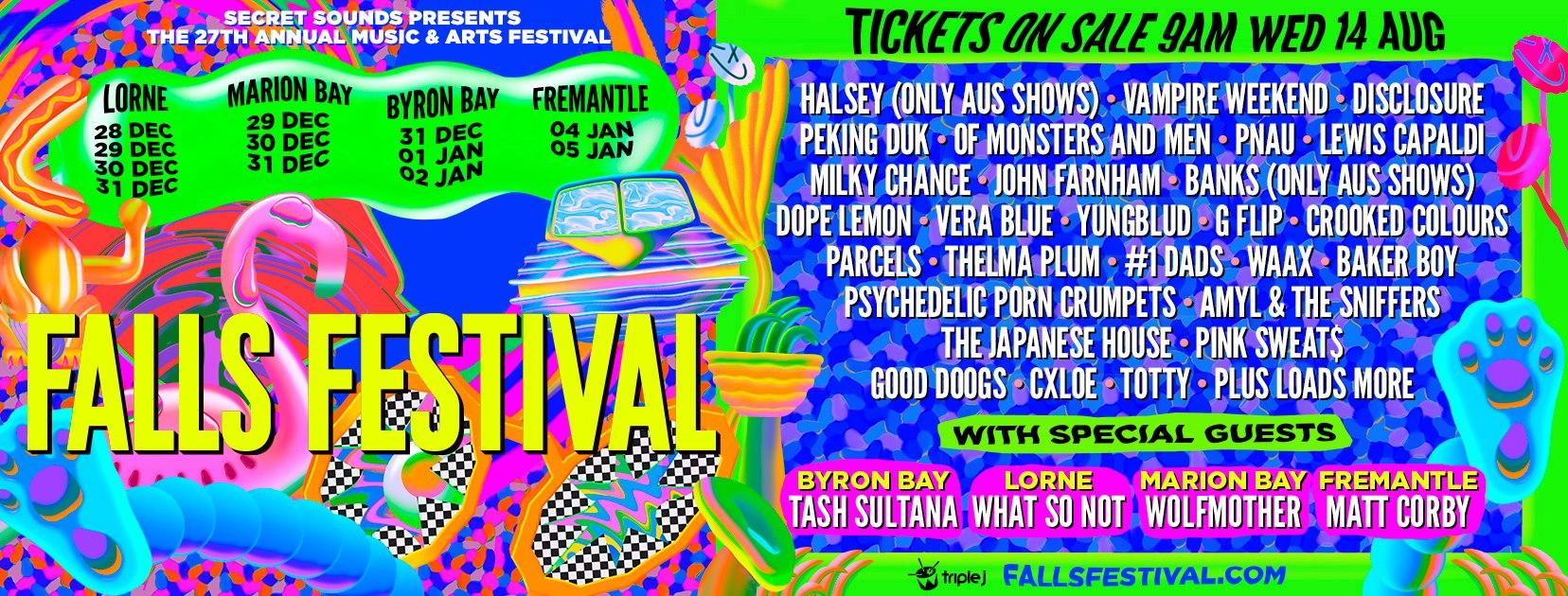 falls-festival-lineup-2019-poster-oz-edm