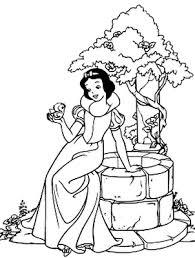 Best Ever Pamuk Prenses Boyama Sayfalari