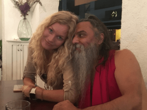 BRYNDIS HELGADOTTIR & OZEN RAJNEESH love affair - moments of love