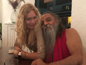 BRYNDIS HELGADOTTIR & OZEN RAJNEESH LOVE AFFAIR