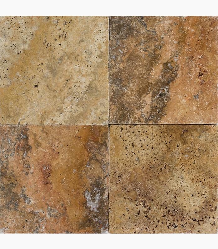 6 6 cappadocia tumbled travertine tile