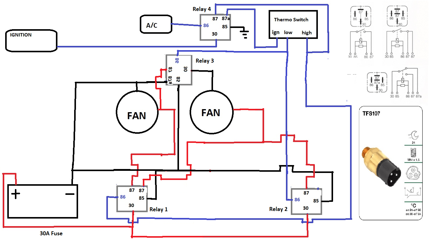 Thermofan Wiring Diagram