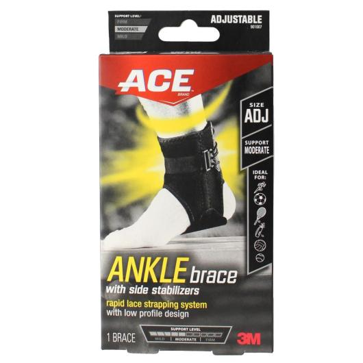ace brand compression ankle support