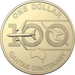 celebrating a 100 years of qantas coin