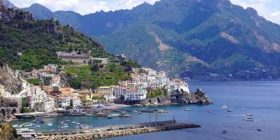 Amalfi Coast Atrani Manzara Campania