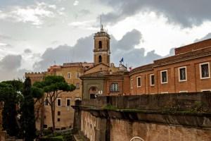 Capitoline hill, Rome Italy
