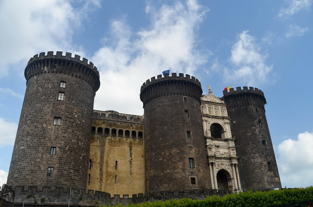Castel Nuovo. Naples, Italy
