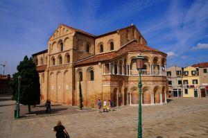 Murano church Venice italya