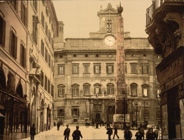 Piazza di Monte Citorio, Rome, Italy