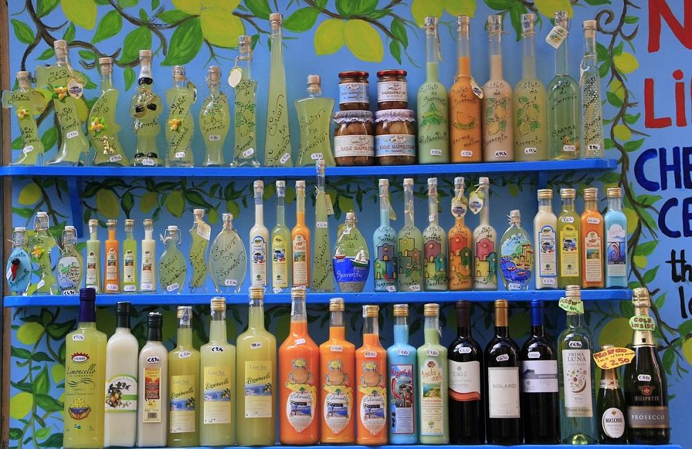 İtalyan içkileri sözlüğü: Alkollü ve Alkolsüz içecekler